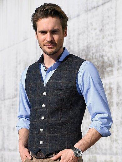 Lodenfrey - Waistcoat in 100% new milled wool