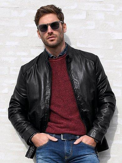 Louis Sayn - La veste en cuir