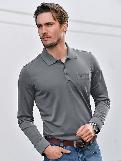 Bugatti - Polo-Shirt 1/1-Arm