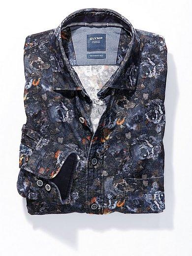 Olymp - Fijncord-overhemd