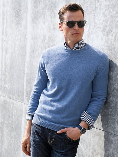 Louis Sayn - Pullover aus 100% Schurwolle-Lambswool
