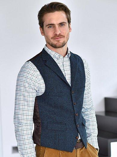 Carl Gross - Le gilet de costume 100% laine vierge