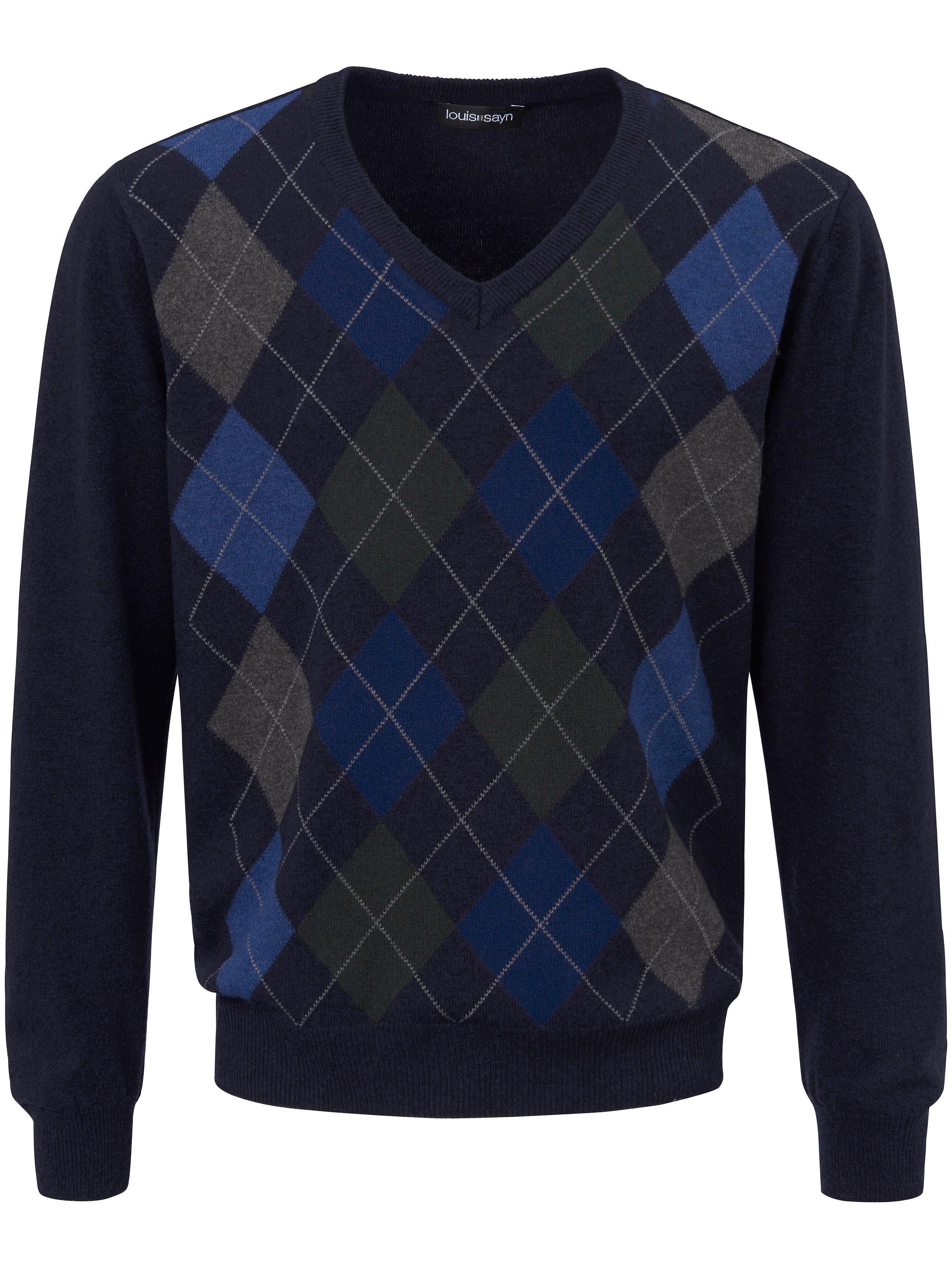 V-Pullover Louis Sayn blau | Bekleidung > Pullover > V-Pullover | Louis Sayn
