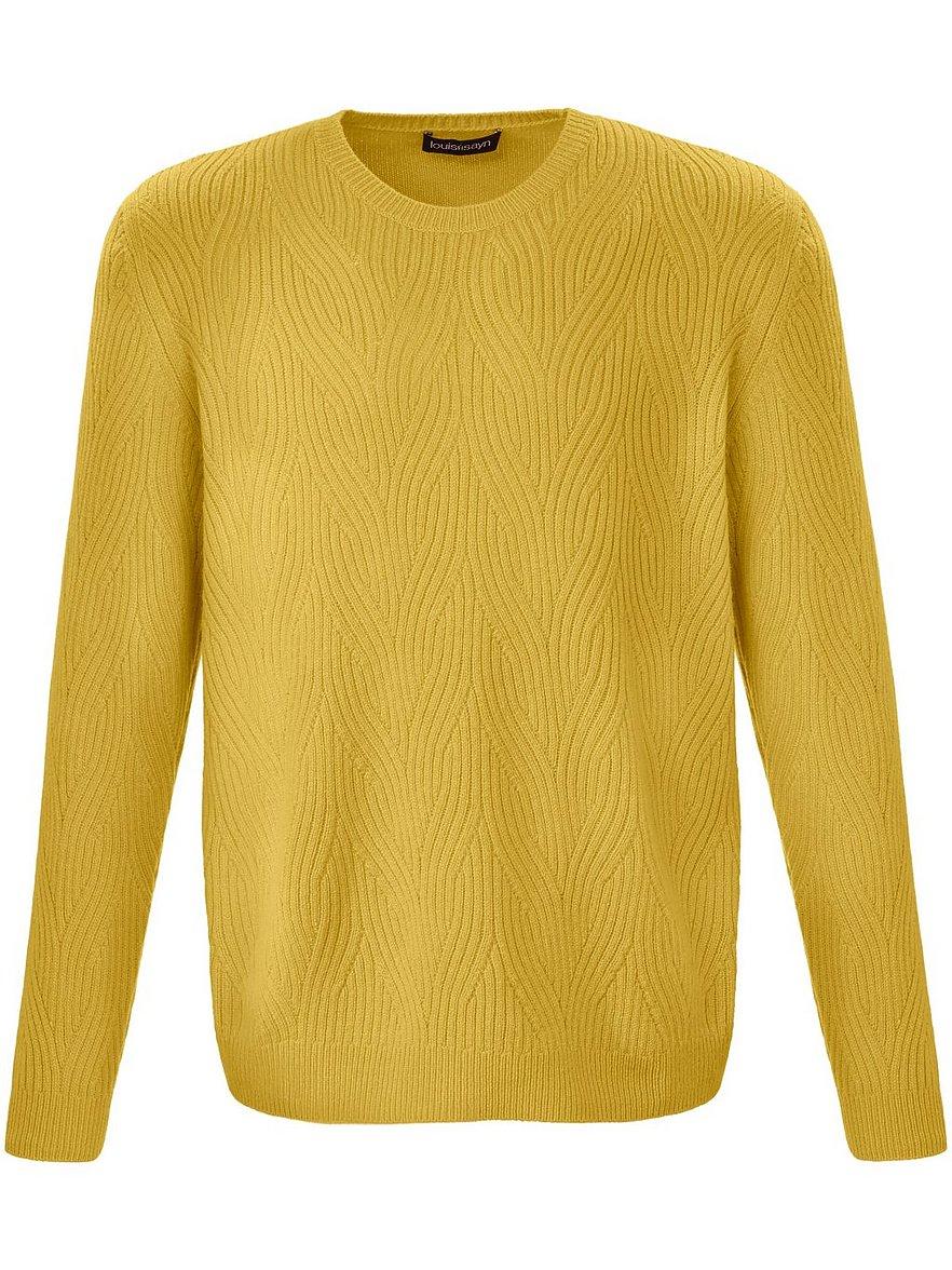 louis sayn - Rundhals-Pullover  mehrfarbig Größe: 58