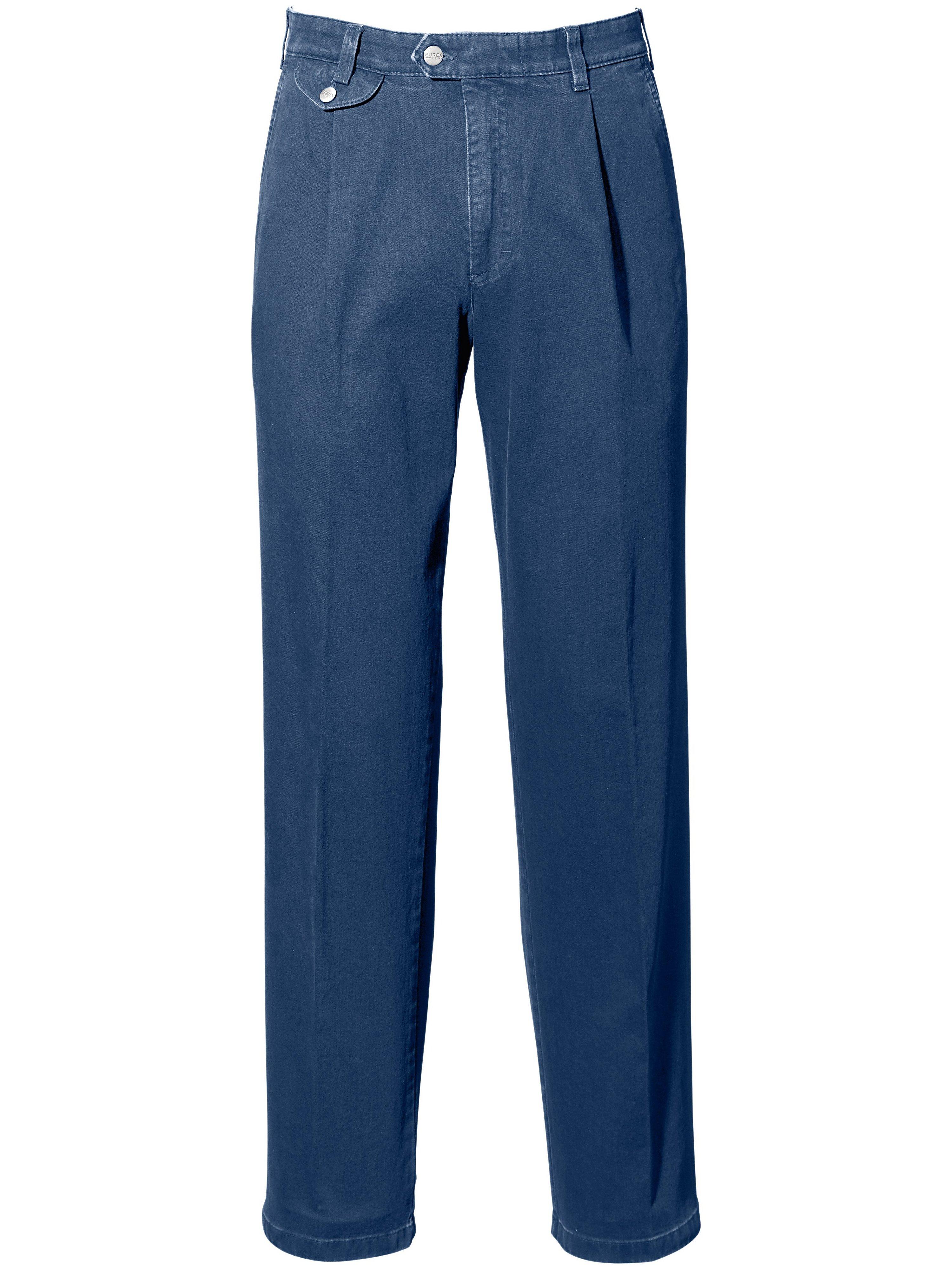 Bandplooi-jeans model Fred veiligheidszak Van Eurex by Brax denim