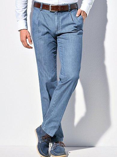 Eurex by Brax - Jeans med linningsveck modell Mike