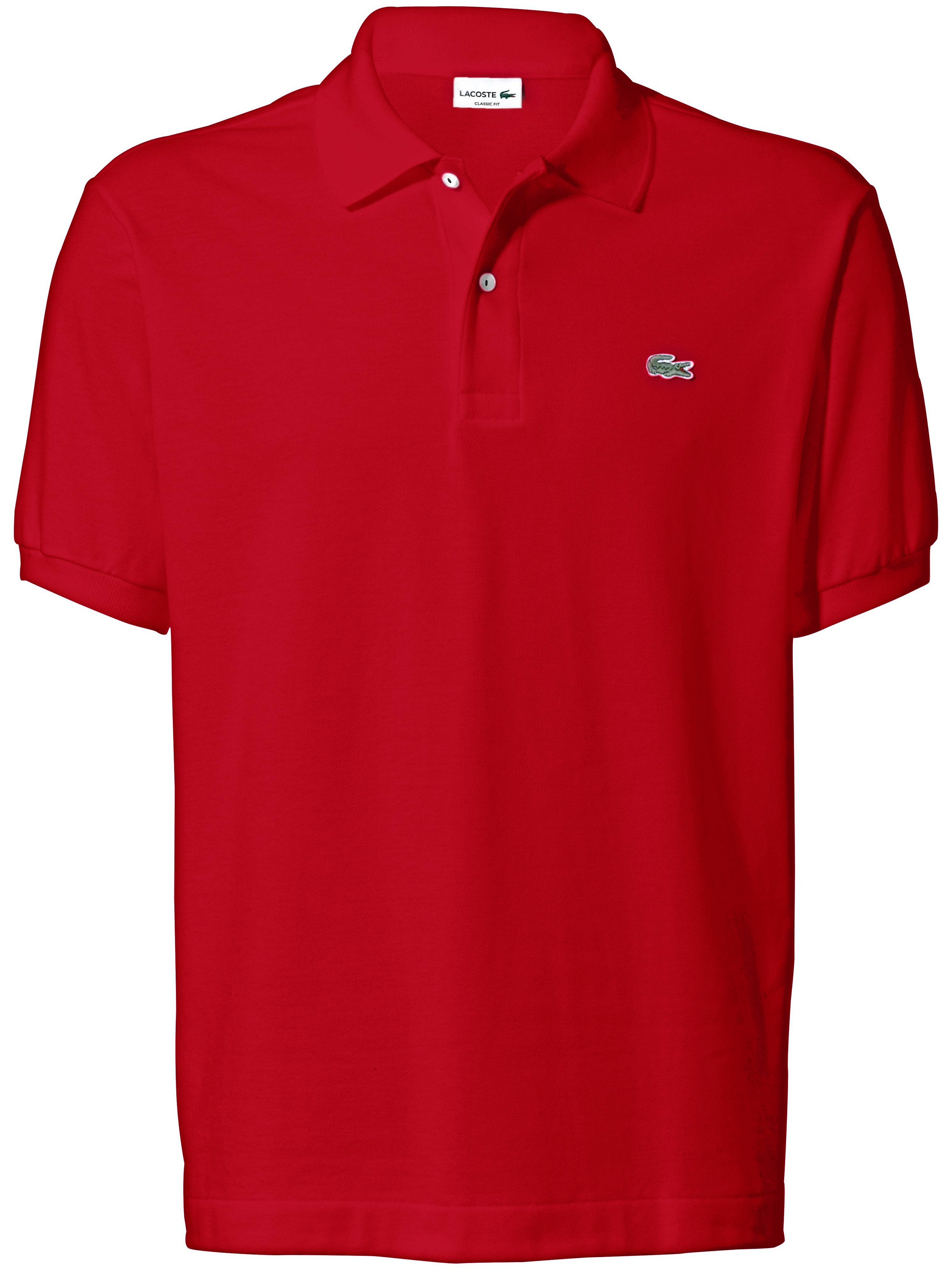Poloshirt Fra Lacoste rød