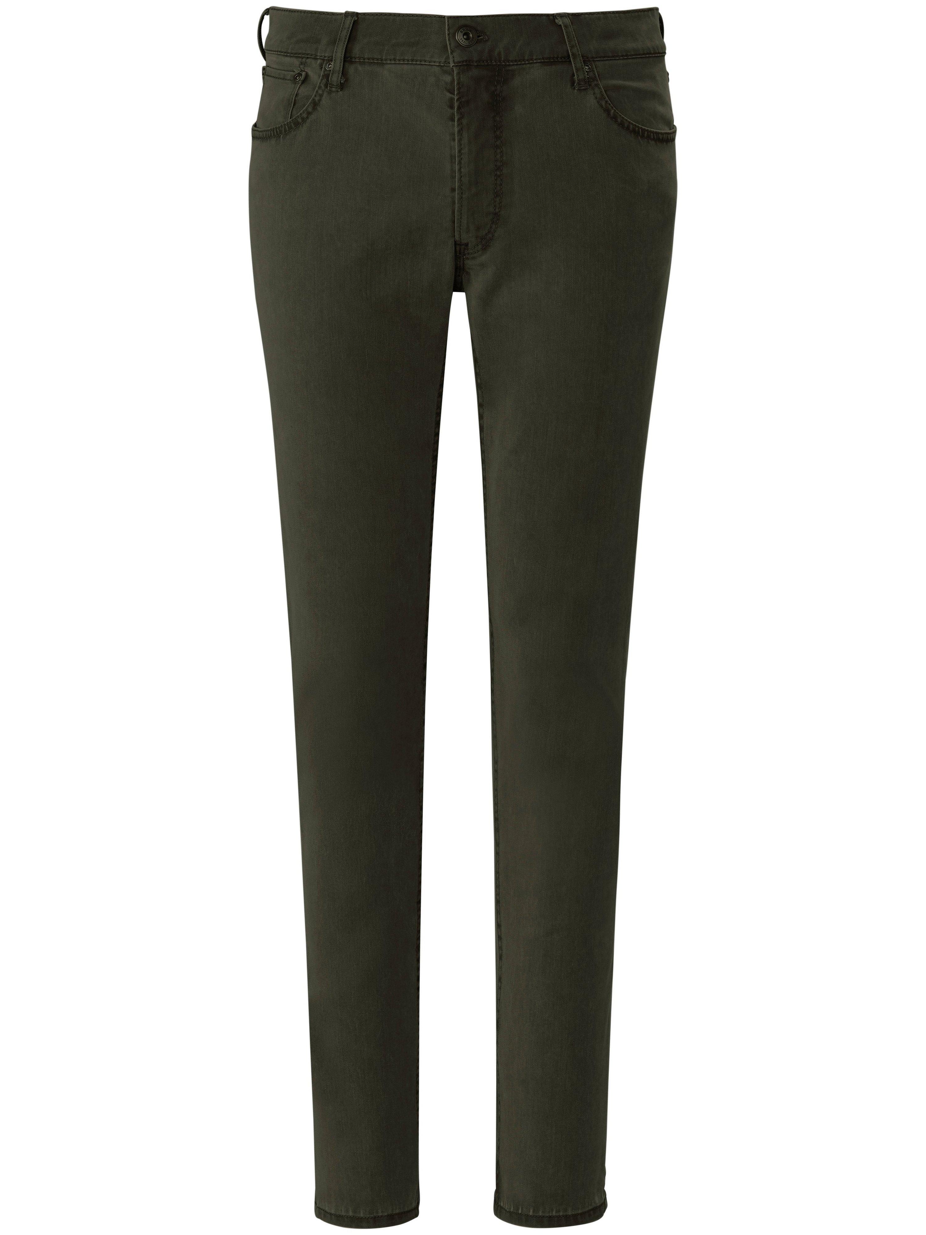 Jeans model Cadiz High-Flex-denim Van Brax Feel Good groen