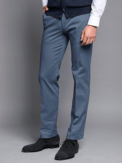 HILTL - Le pantalon sans pinces modèle Parma