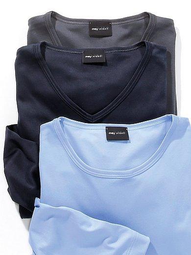 Mey - Le T-shirt manches longues 100% coton
