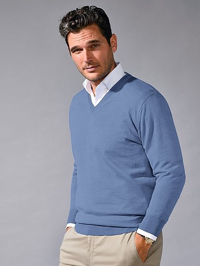 Peter Hahn - Le pull en pure laine vierge, modèle MARCO