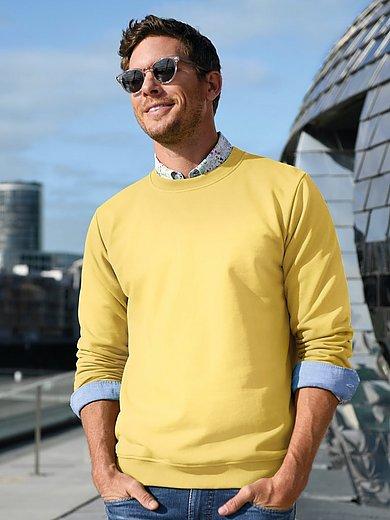 Louis Sayn - Sweatshirt van 100% katoen met logoborduursel