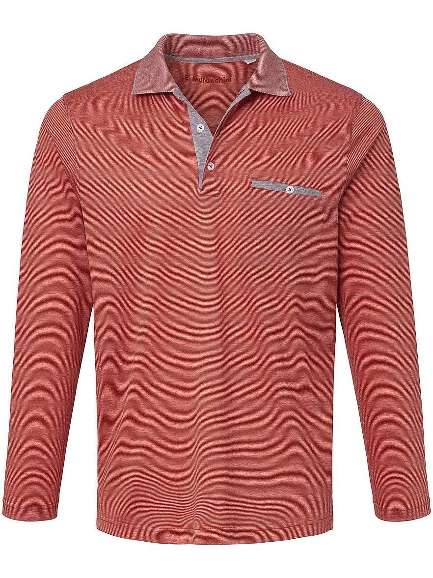 e.muracchini - Polo-Shirt  orange Größe: 52