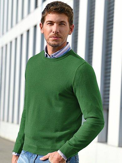 Louis Sayn - Rundhals-Pullover aus 100% Schurwolle Merino