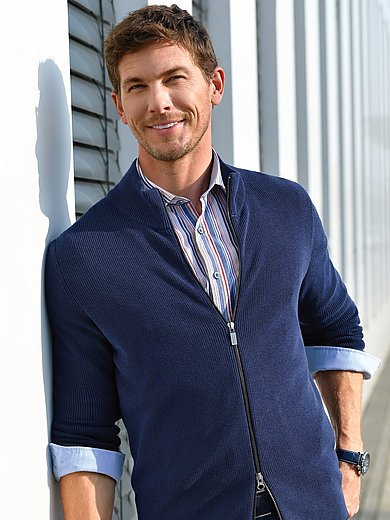 Olymp - Overhemd van 100% katoen met streepdessin