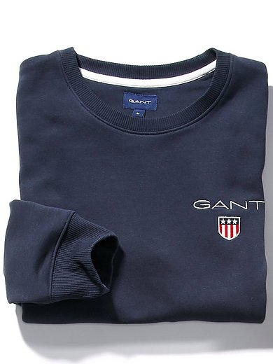 GANT - Sweatshirt met boord en logoprint