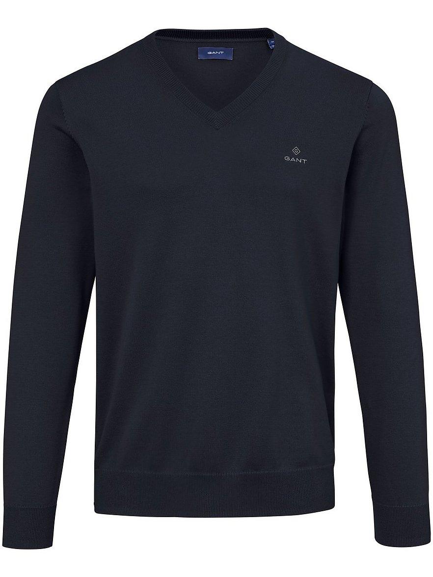 V-Pullover GANT blau Größe: 50 | Bekleidung > Pullover > V-Pullover | Gant