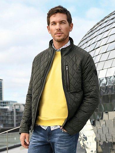 Louis Sayn - La veste matelassée à col montant