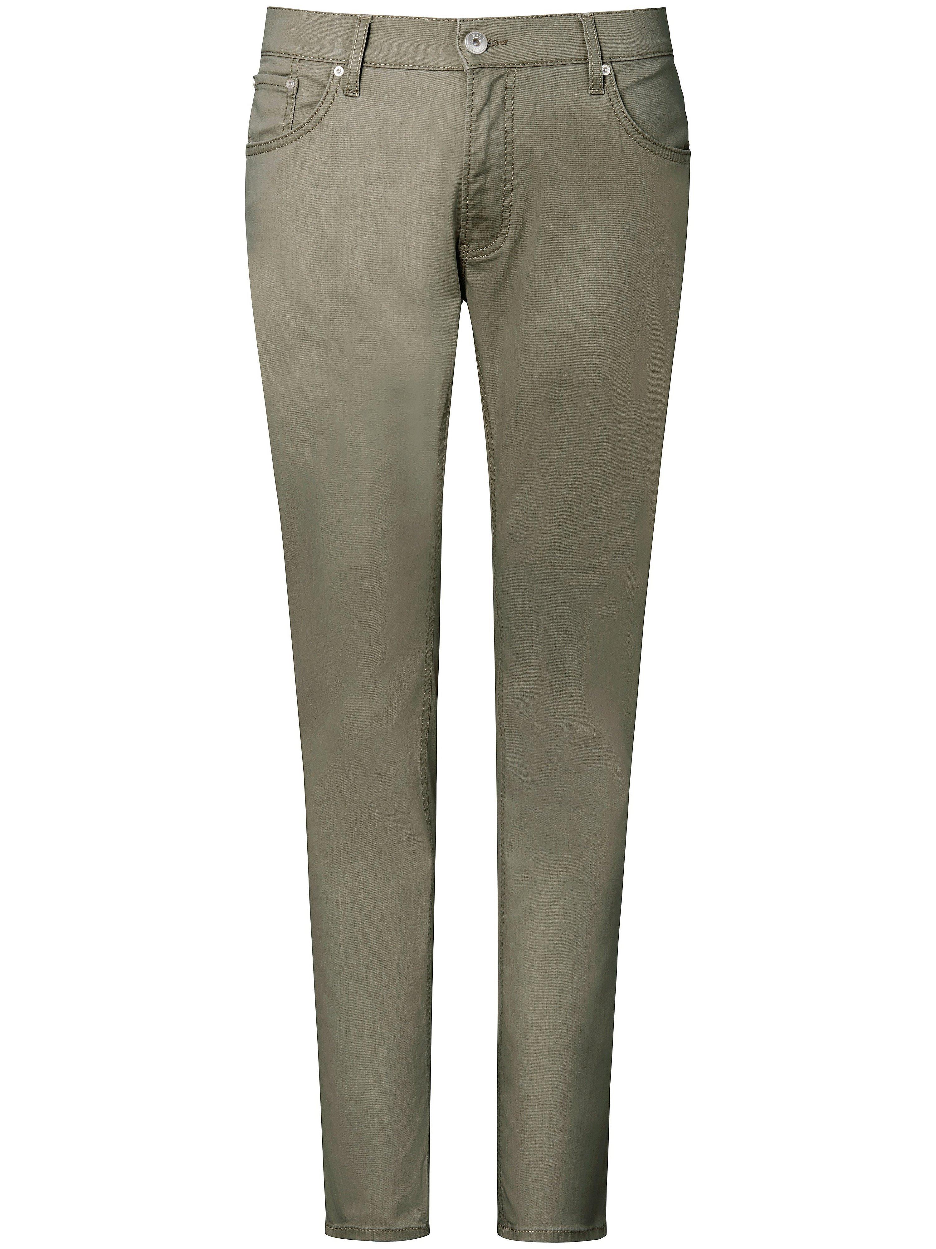 Jeans design Cadiz Brax Feel Good green
