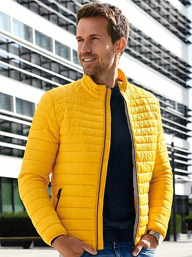 CALAMAR - Gewatteerde jas met staand kraagje