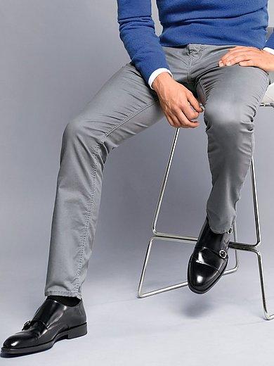 Mac - Regular Fit-broek model Arne Pipe met microprint