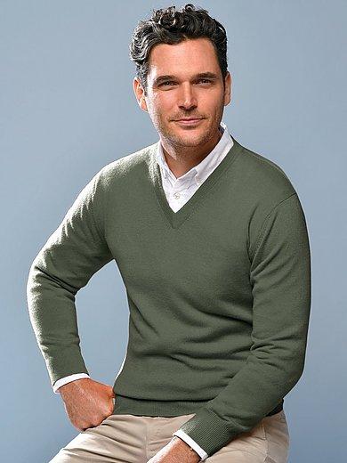 Peter Hahn Cashmere - V-Pullover aus 100% Premium-Kaschmir