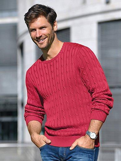 Louis Sayn - Rundhals-Pullover aus 100% Pima-Cotton