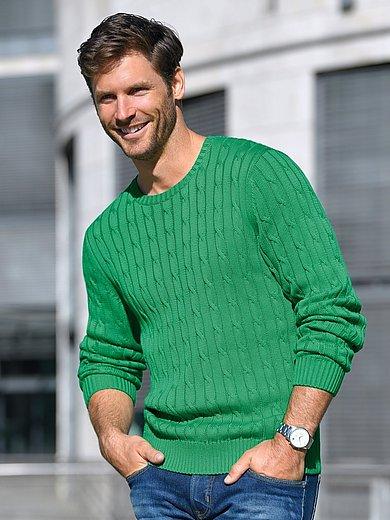 Louis Sayn - Rundhalsad tröja i 100% pimabomull