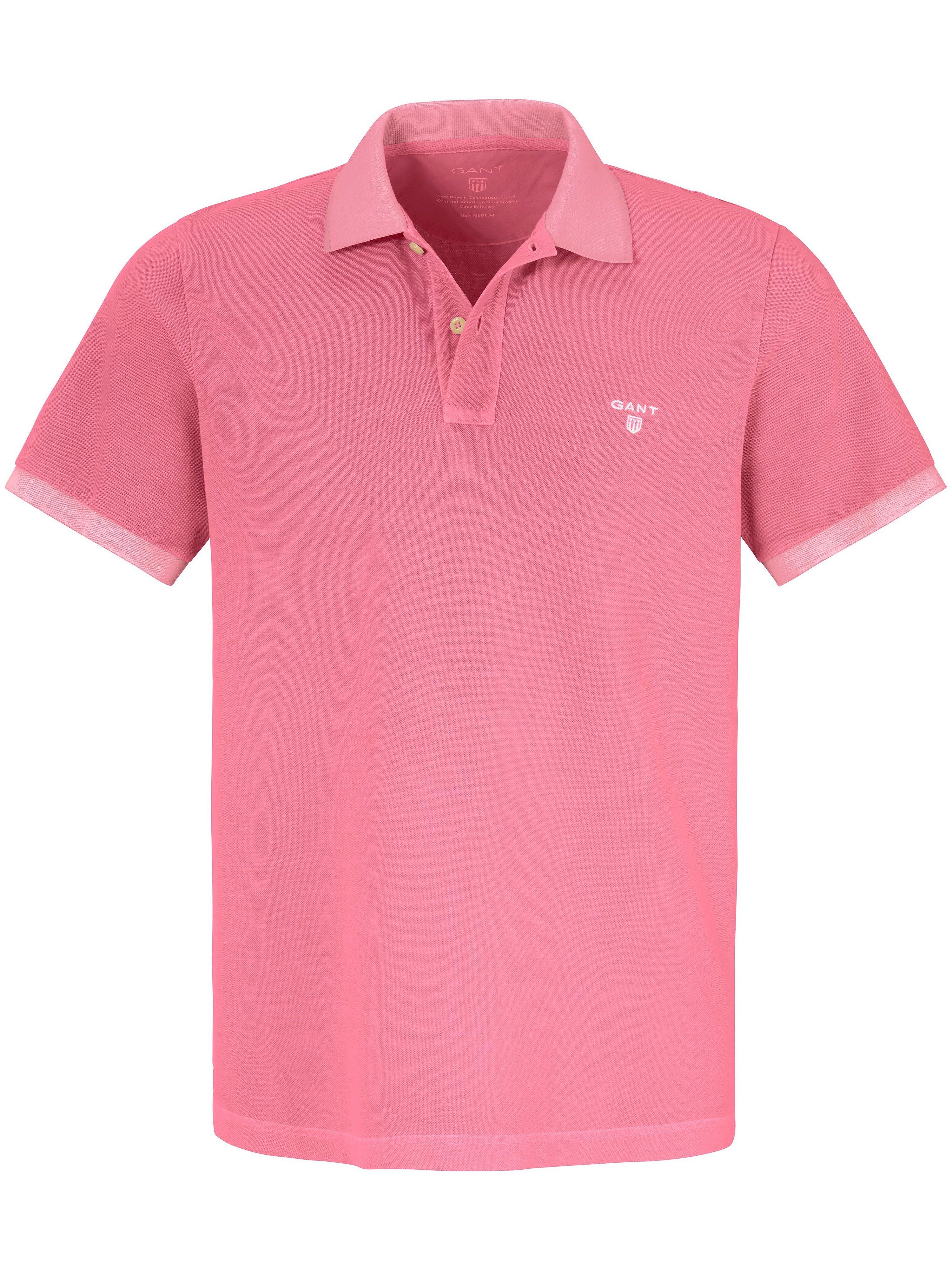 Poloshirt Van GANT roze