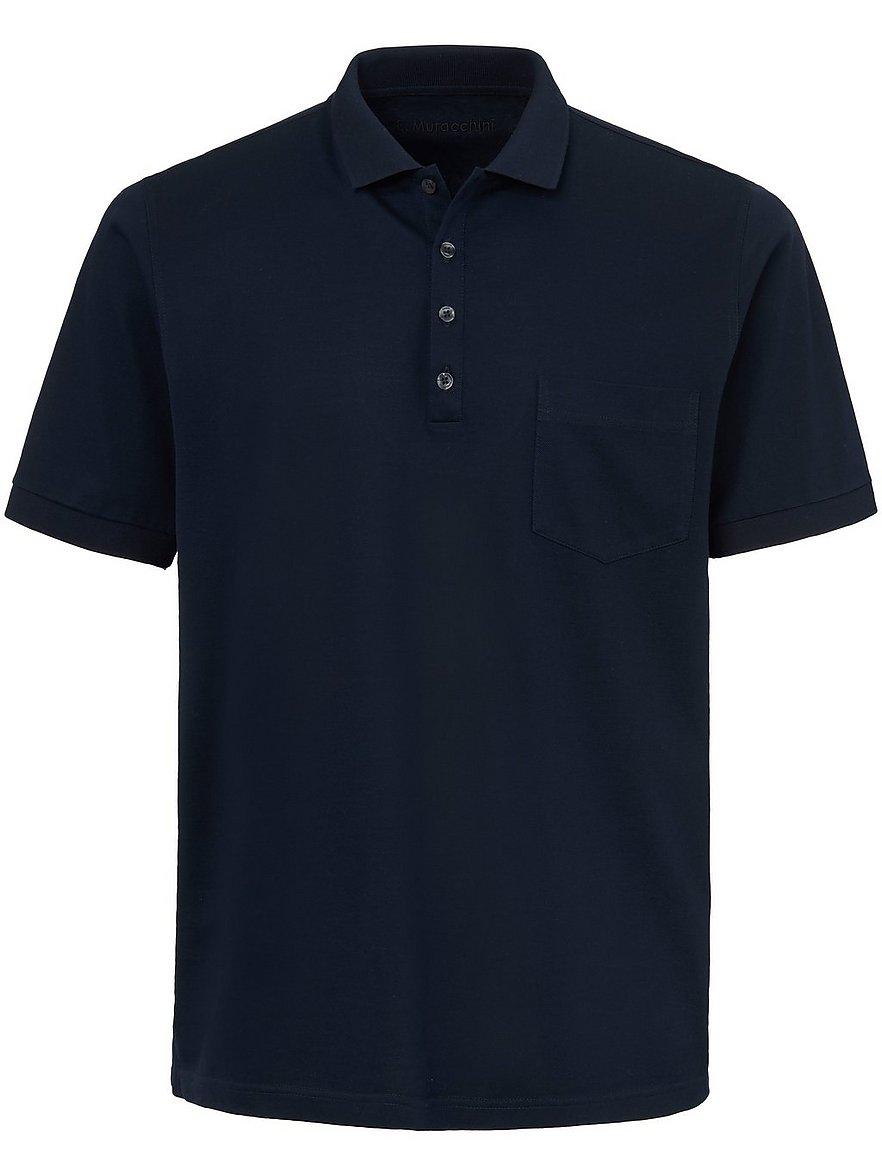 e.muracchini - Polo-Shirt  blau Größe: 50