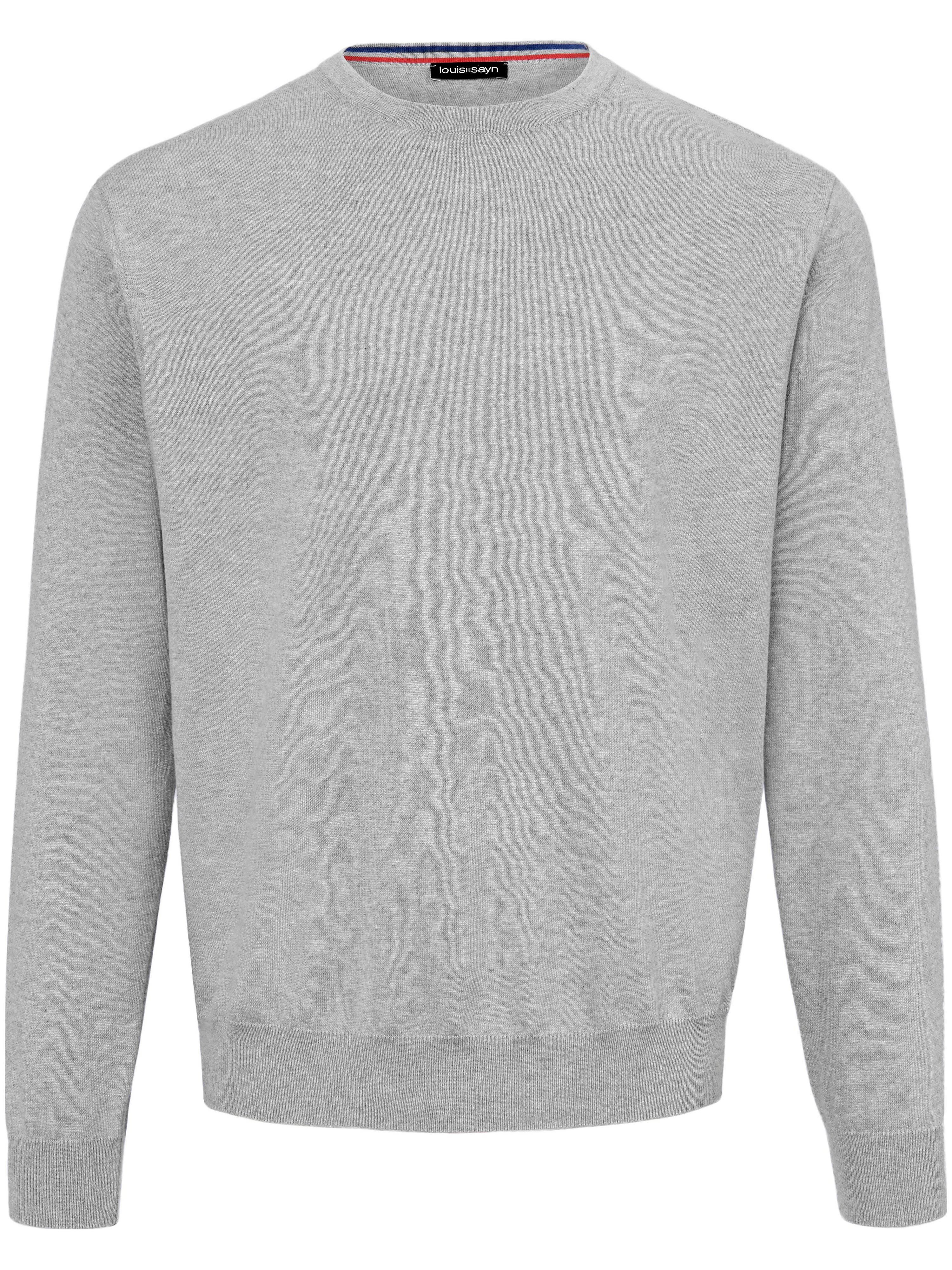louis sayn - Pullover aus 100% Baumwolle Pima Cotton  grau