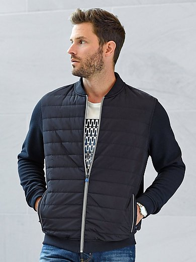 Bugatti - Sweatjacke in Blouson-Form