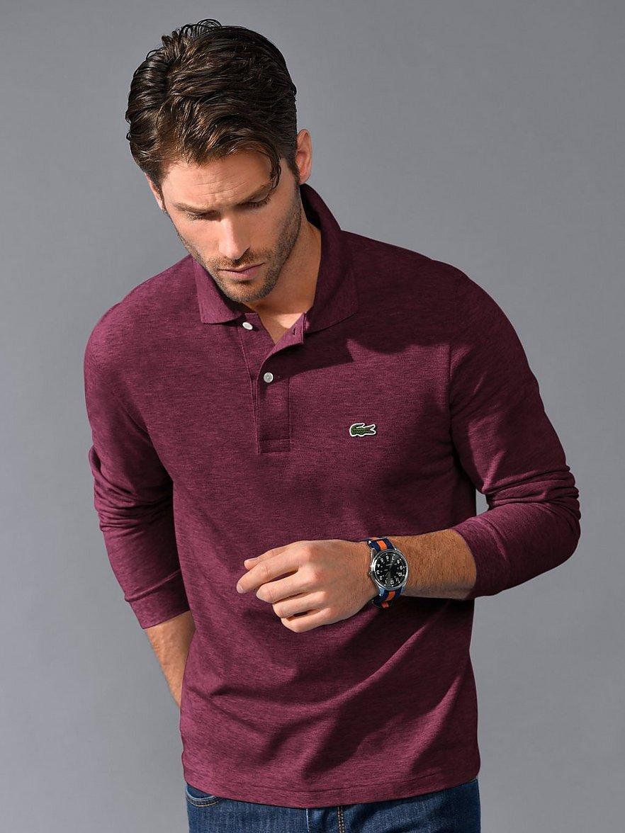 lacoste - Polo-Shirt 1/1-Arm  rot Größe: 58