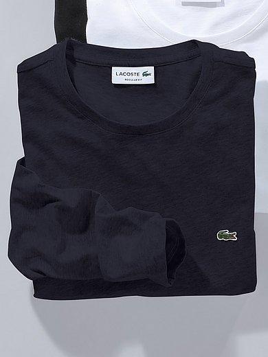 Lacoste - Shirt van 100% katoen met ronde hals