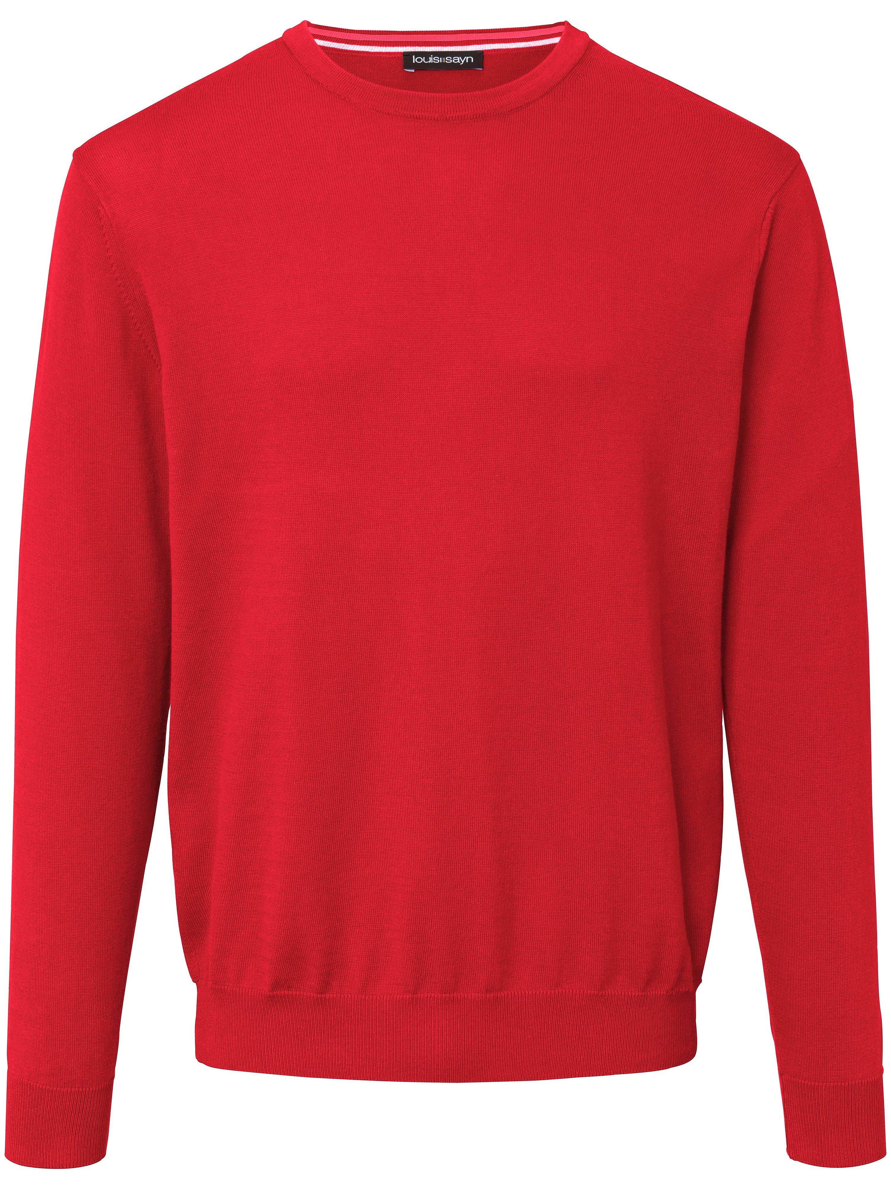 louis sayn - Pullover aus 100% Baumwolle Pima Cotton  rot