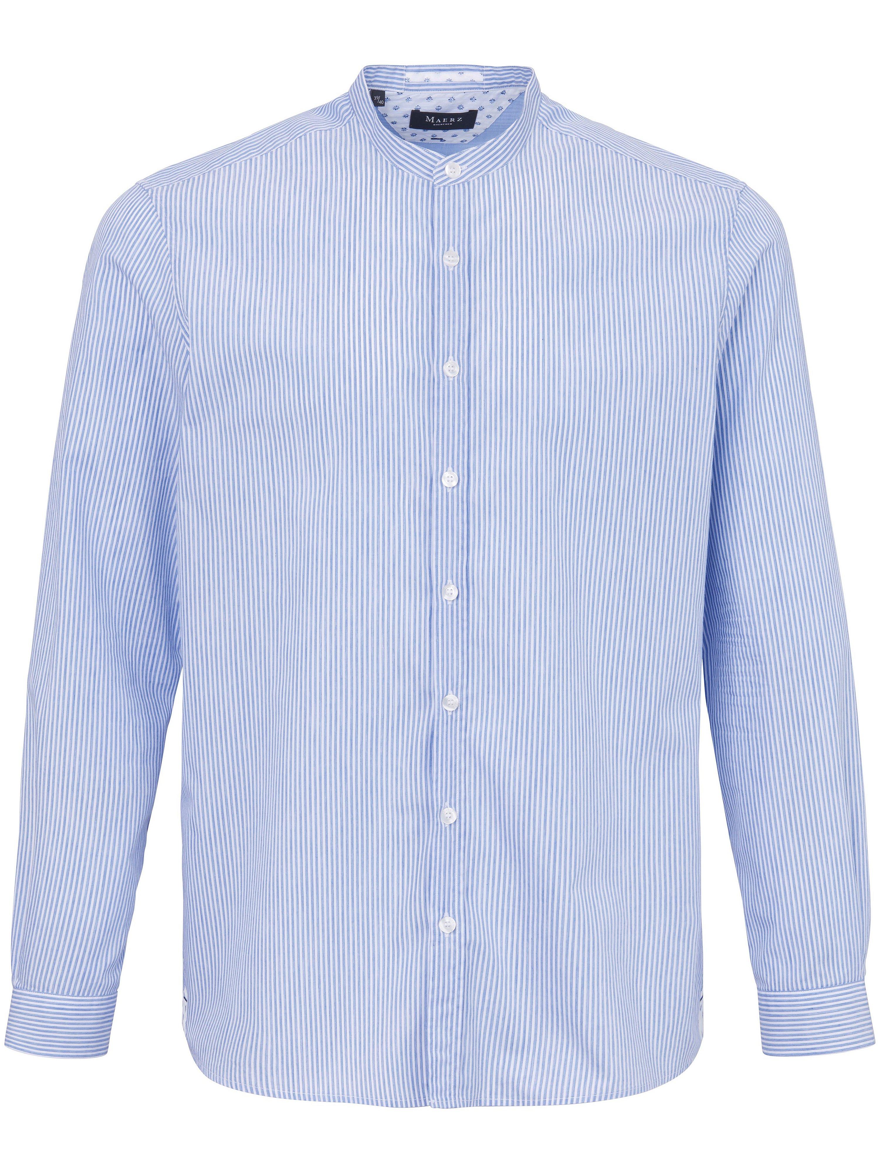 La chemise 100% coton  MAERZ Muenchen bleu taille 43/44