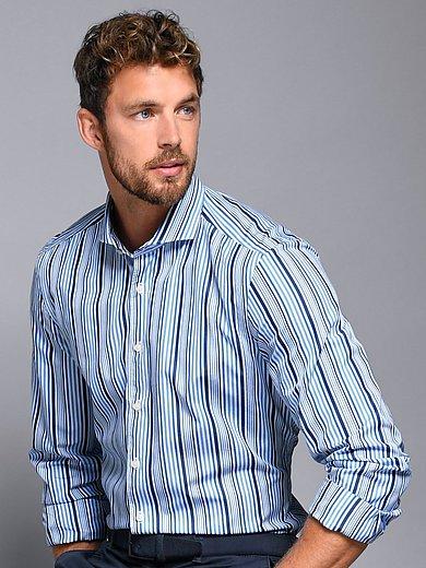 Olymp - Overhemd van 100% katoen met cut-awaykraag