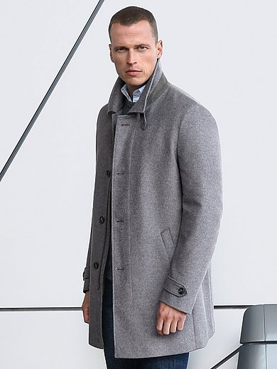 Schneiders Salzburg - Lange jas van kostuumstof in tijdloos model