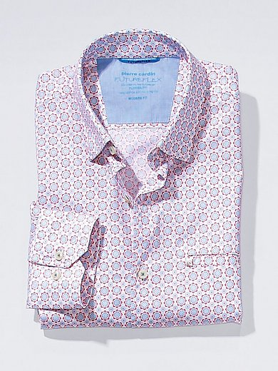 Pierre Cardin - Shirt with hidden button down collar