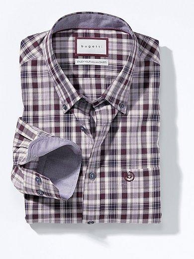 Bugatti - Shirt with button-down collar
