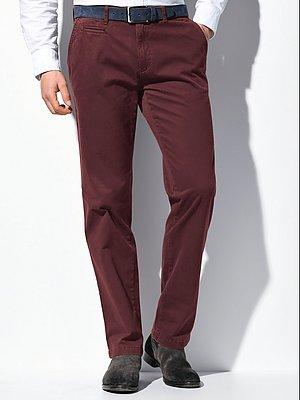 Regular Fit-broek model Everest in flatfrontmodel Van Brax Feel Good rood