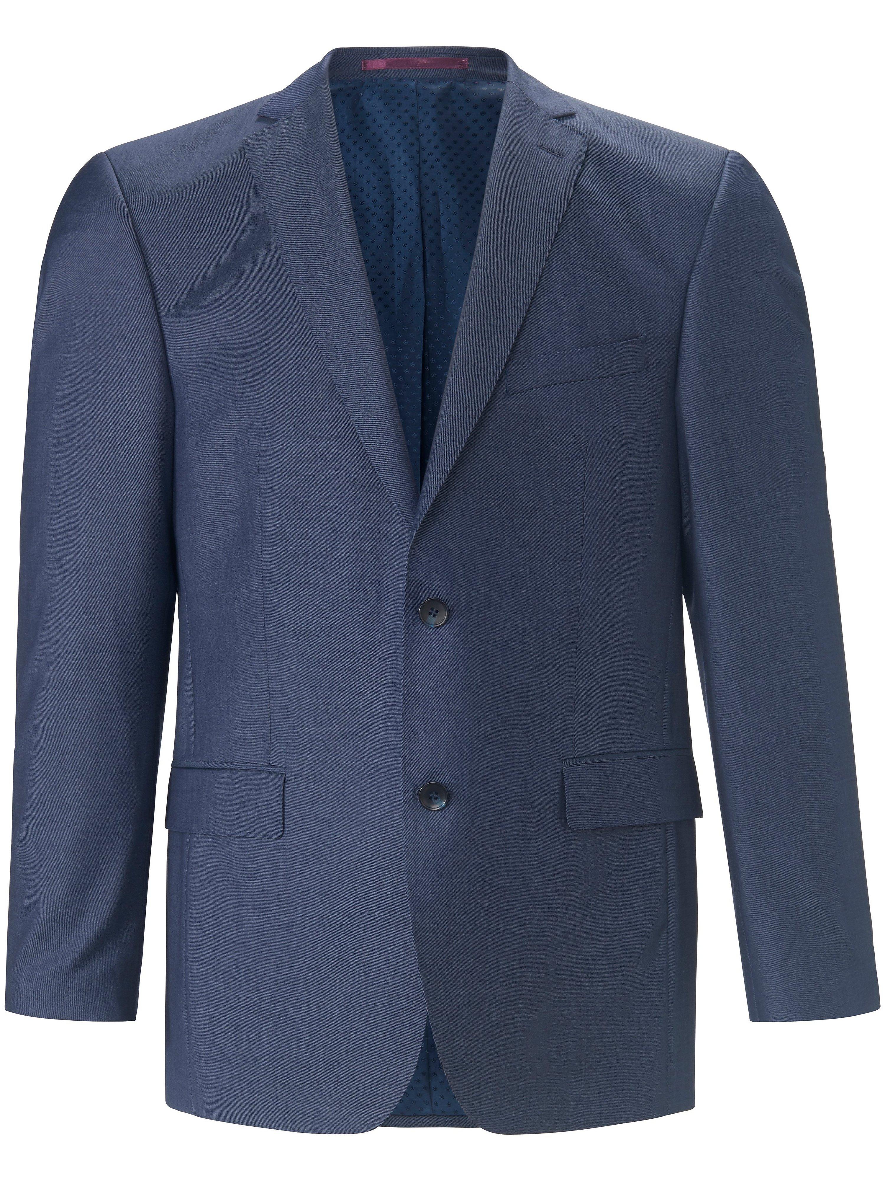 Colbert Modern Fit 100% scheerwol Van Carl Gross blauw