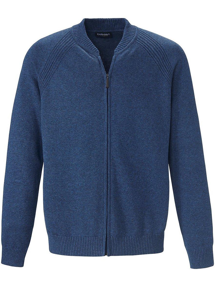 louis sayn - Strickjacke  blau Größe: 54