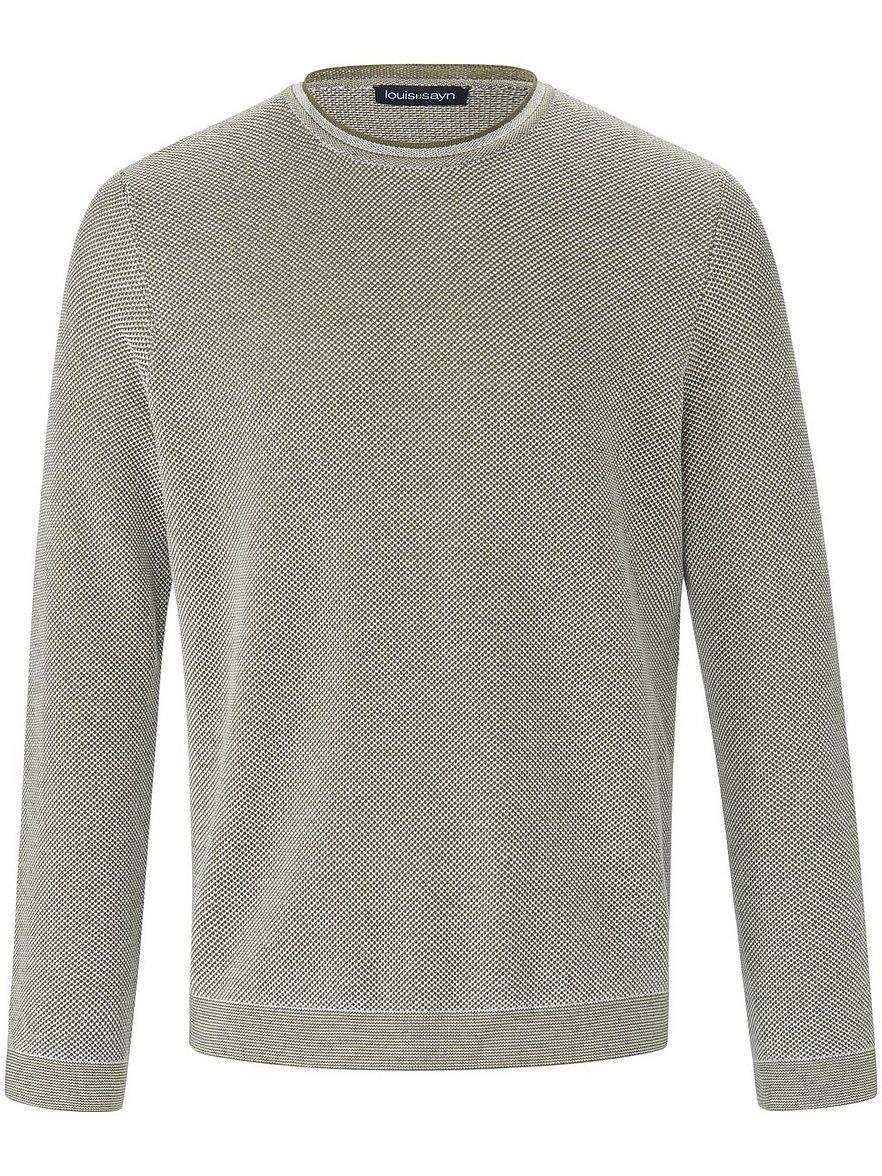 louis sayn - Rundhals-Pullover  grün Größe: 54
