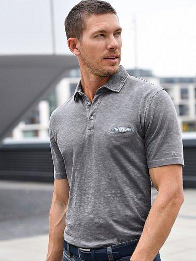 Olymp - Polo-Shirt im aktuellen Washer Look