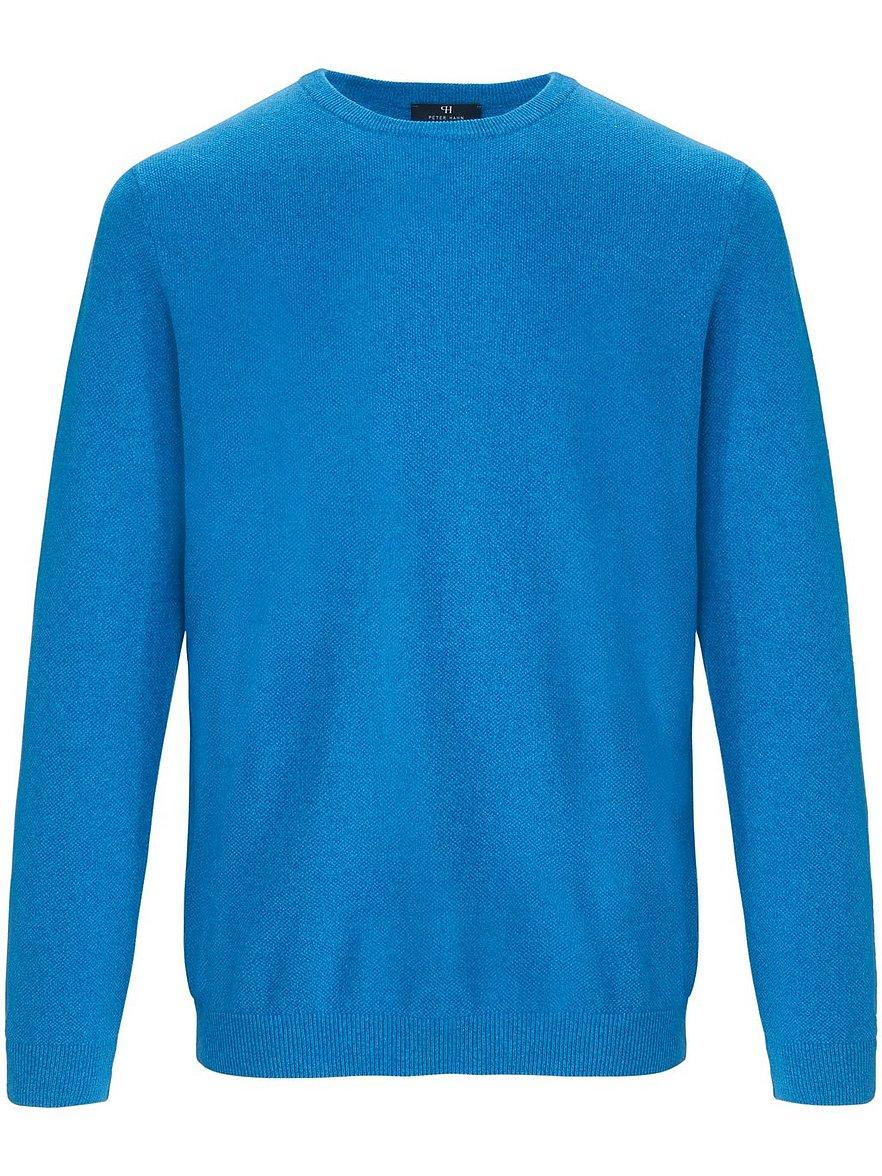 louis sayn - Rundhals-Pullover  blau Größe: 54