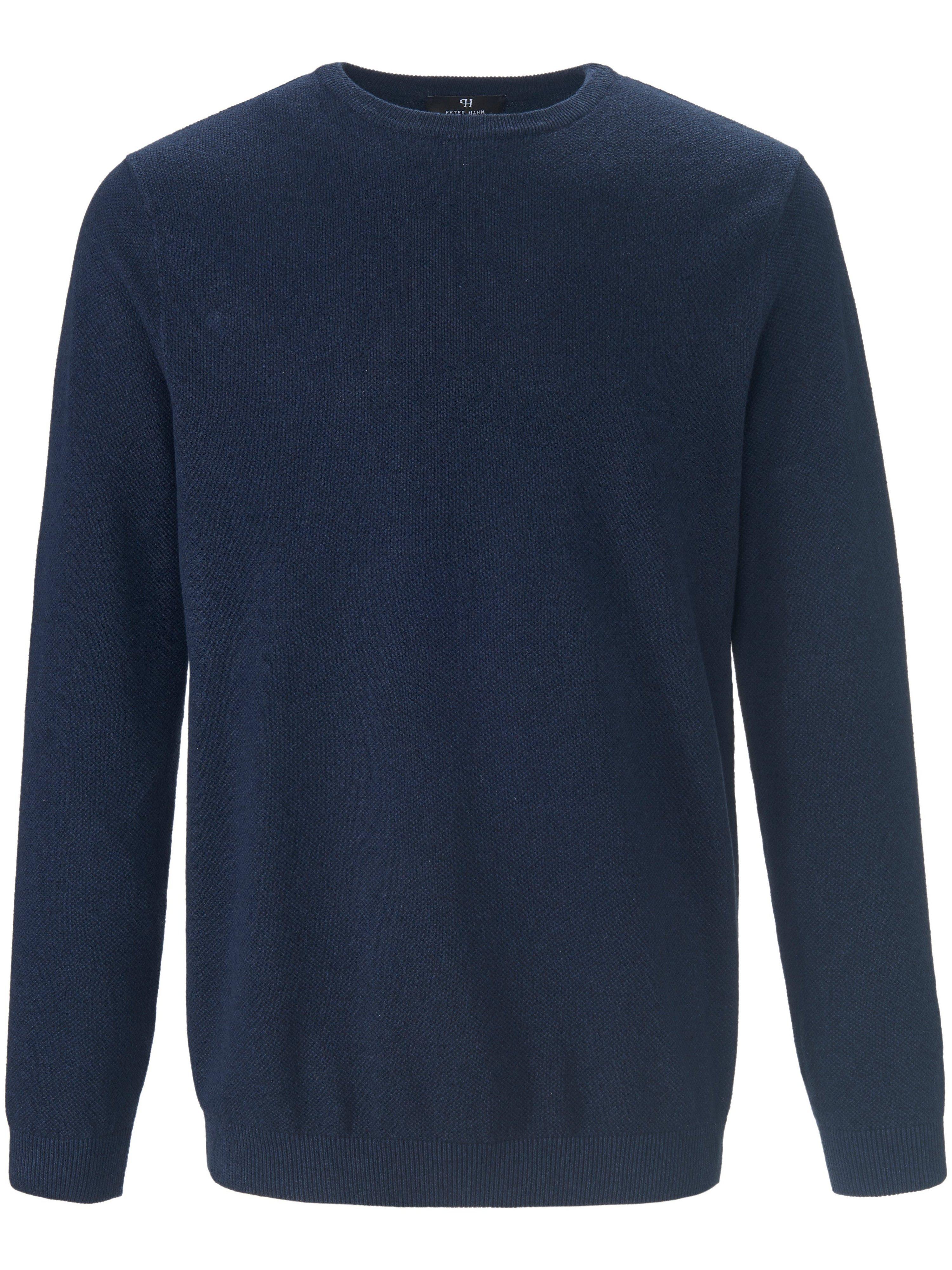 Le pull col ras cou 100% coton  Louis Sayn bleu taille 50