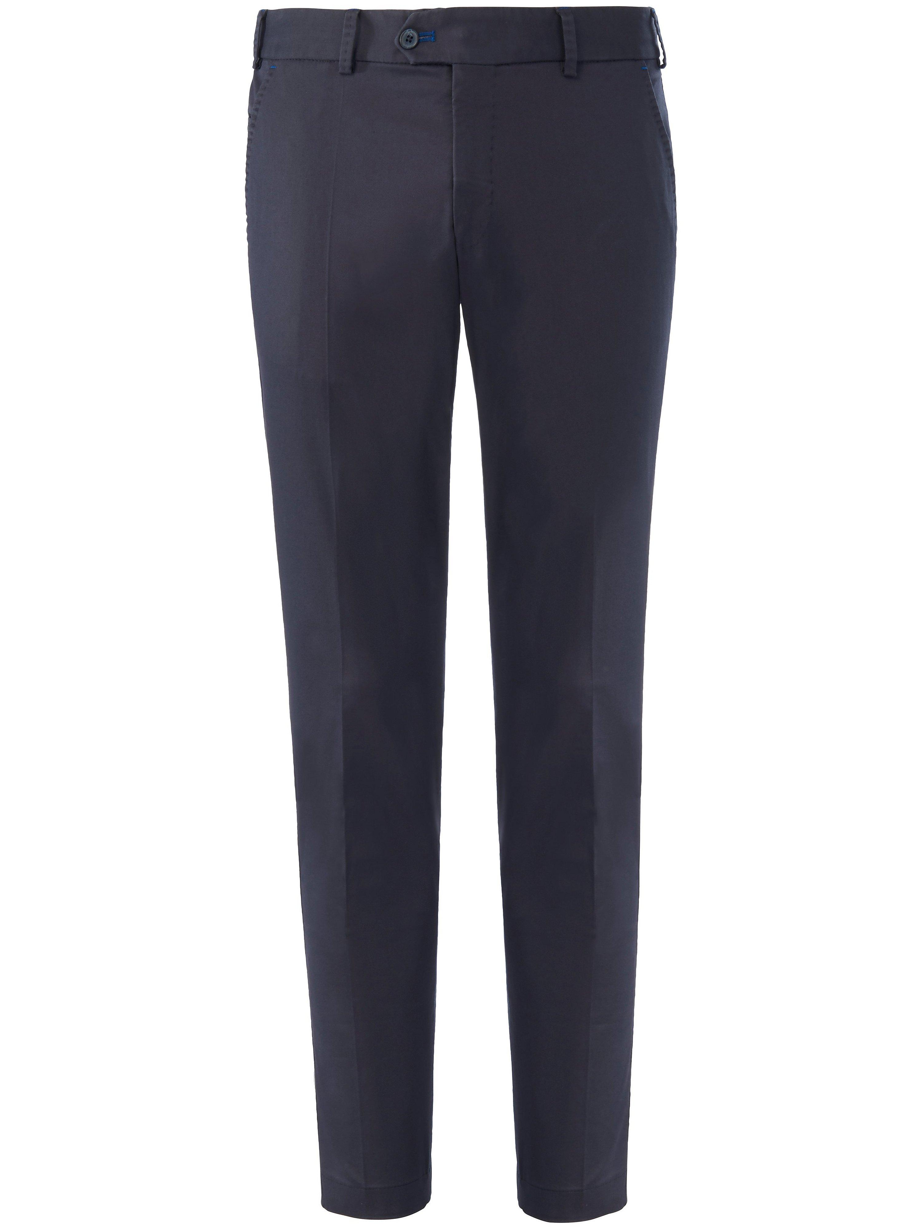 Slim Fit-flatfrontbroek model Tourist Van HILTL blauw