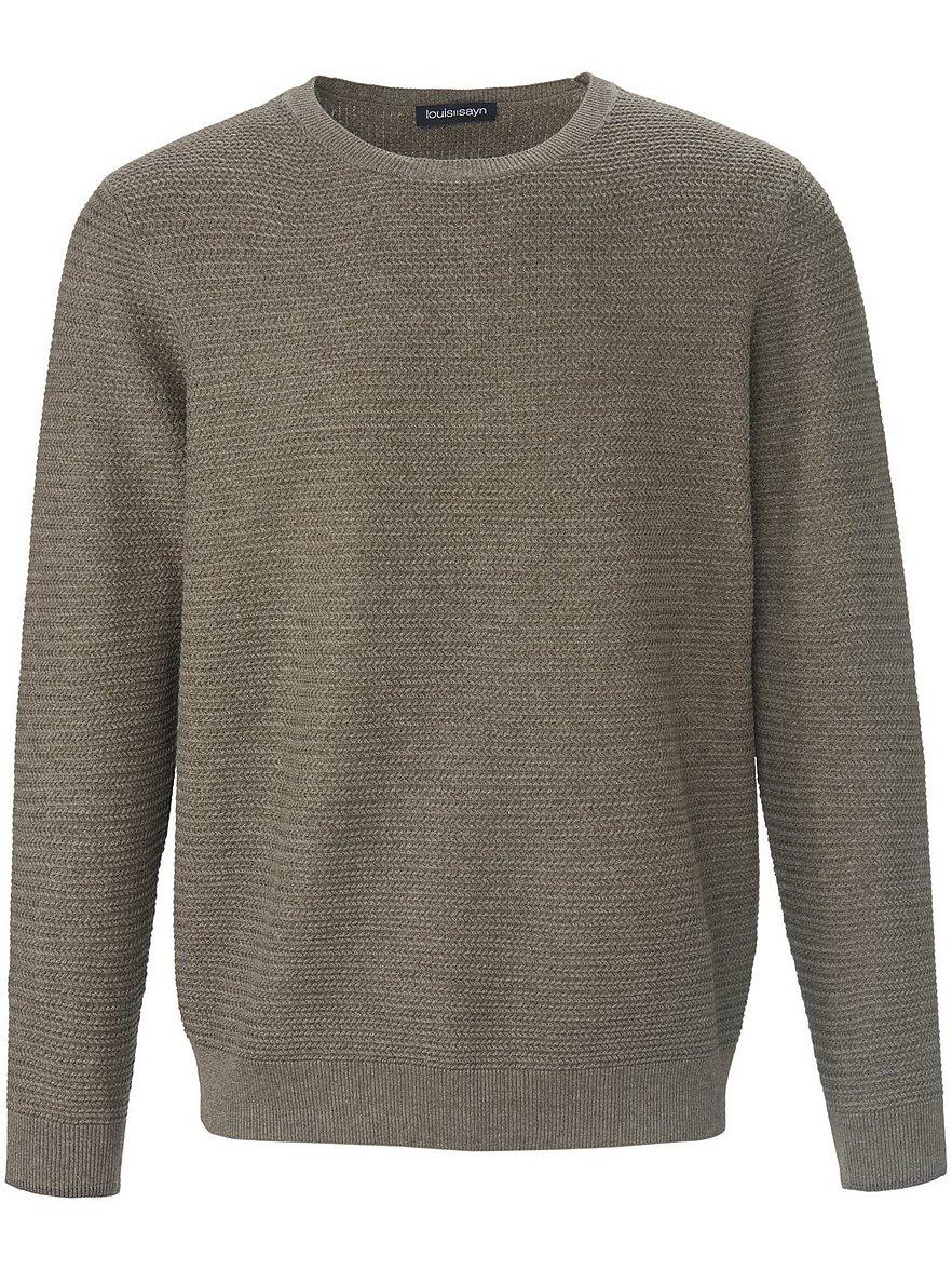 louis sayn - Rundhals-Pullover  grün Größe: 56