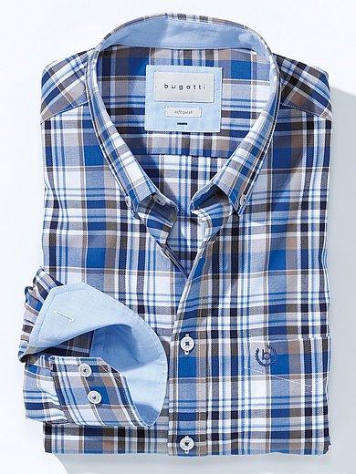 Bugatti - Hemd mit Button-down-Kragen